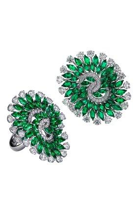 Женские кольцо JACOB & CO бесцветного цвета, арт. 91841301 | Фото 1