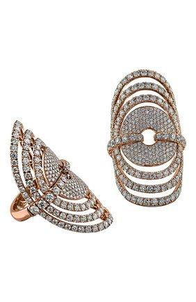 Женские кольцо JACOB & CO бесцветного цвета, арт. 91842328 | Фото 1