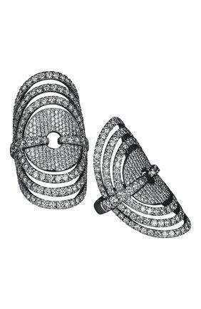 Женские кольцо JACOB & CO бесцветного цвета, арт. 91944130 | Фото 1