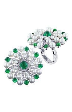 Женские кольцо JACOB & CO бесцветного цвета, арт. 91944199 | Фото 1