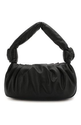 Женская сумка MIU MIU черного цвета, арт. 5BC064-2C9O-F0002-OOM | Фото 1