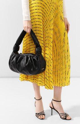 Женская сумка MIU MIU черного цвета, арт. 5BC064-2C9O-F0002-OOM | Фото 2