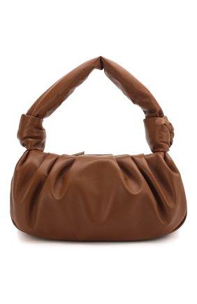 Женская сумка MIU MIU коричневого цвета, арт. 5BC064-2C9O-F0046-OOM | Фото 1