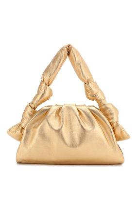 Женская сумка MIU MIU золотого цвета, арт. 5BF102-2C9O-F0522-OOO   Фото 1