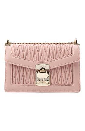 Женская сумка MIU MIU розового цвета, арт. 5BD083-N88-F0615-OOO | Фото 1