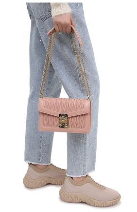 Женская сумка MIU MIU розового цвета, арт. 5BD083-N88-F0615-OOO | Фото 2