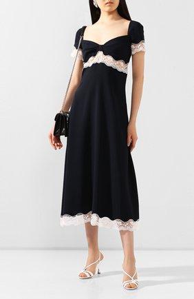 Женское платье MIU MIU черного цвета, арт. MF3597-1L30-F0G4F   Фото 2