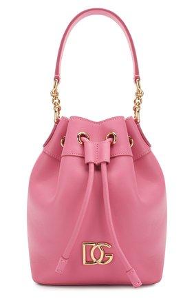 Женская сумка millennials DOLCE & GABBANA розового цвета, арт. BB6844/AX495 | Фото 1