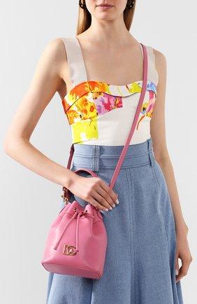 Женская сумка millennials DOLCE & GABBANA розового цвета, арт. BB6844/AX495 | Фото 2