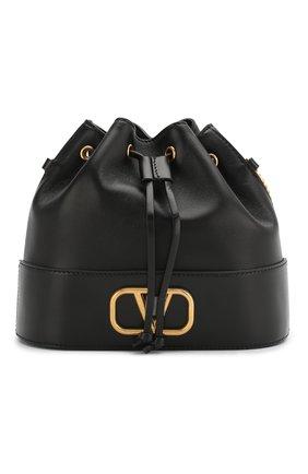 Женская сумка valentino garavani vlogo VALENTINO черного цвета, арт. TW0P0T83/HPF | Фото 1