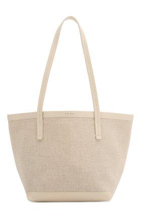 Женская сумка-шопер THE ROW белого цвета, арт. W1242V20L52 | Фото 1