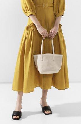 Женская сумка-шопер THE ROW белого цвета, арт. W1242V20L52 | Фото 2