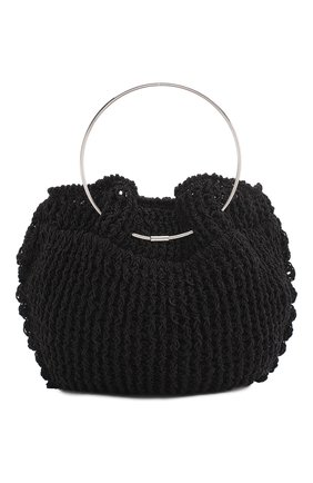 Женская сумка micro circle THE ROW черного цвета, арт. W1240Y436 | Фото 1