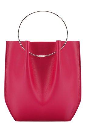 Женская сумка micro circle THE ROW фуксия цвета, арт. W1240L52 | Фото 1