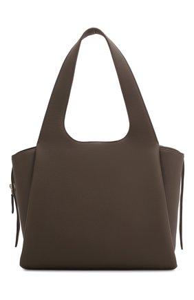 Женская сумка large tr1 THE ROW хаки цвета, арт. W1231L55M | Фото 1
