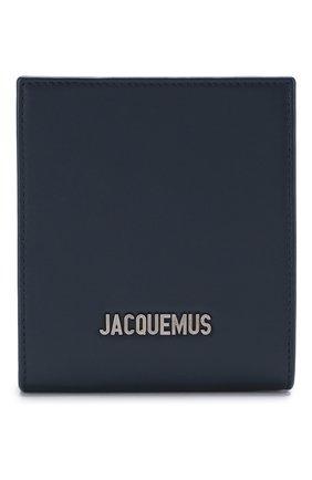 Мужская кожаная сумка le gadjo JACQUEMUS синего цвета, арт. 205AC21/58390 | Фото 1