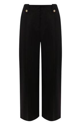 Женские хлопковые брюки ESCADA черного цвета, арт. 5033792 | Фото 1
