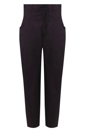 Женские хлопковые брюки ISABEL MARANT черного цвета, арт. PA1699-20E006I/GUBAIA | Фото 1