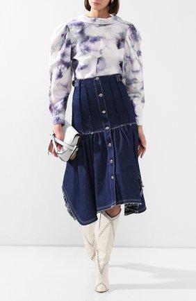Женская джинсовая куртка ISABEL MARANT голубого цвета, арт. HT1746-20E011I/ESPERA | Фото 2