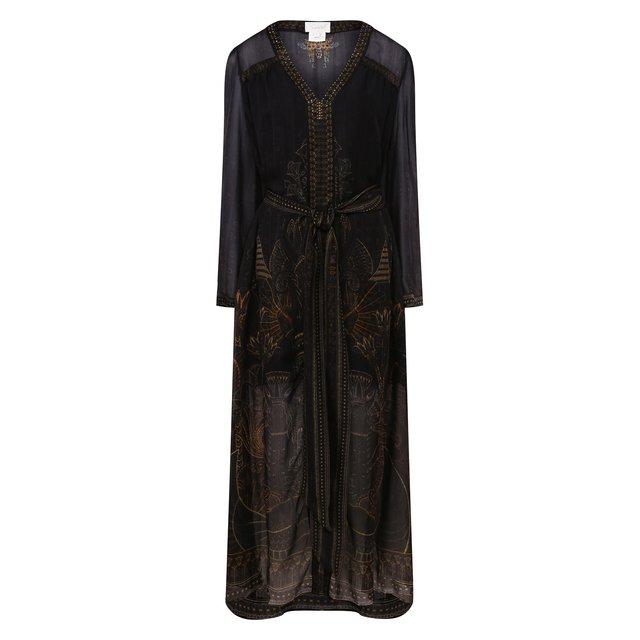 Шелковое платье Camilla