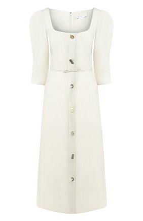Женское льняное платье REJINA PYO бежевого цвета, арт. F278/LINEN   Фото 1