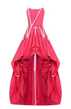 Женское платье OFF-WHITE розового цвета, арт. 0WDB232S20FAB0013200 | Фото 1