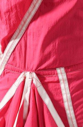 Женское платье OFF-WHITE розового цвета, арт. 0WDB232S20FAB0013200 | Фото 5