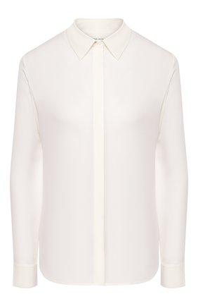 Женская шелковая рубашка THE ROW кремвого цвета, арт. 3028W38 | Фото 1
