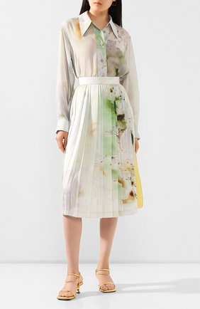 Женская юбка LOW CLASSIC разноцветного цвета, арт. L0W20SS_SK05PR   Фото 2