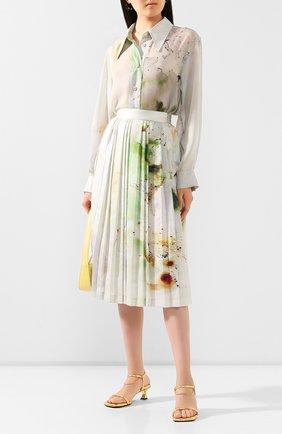 Женская рубашка LOW CLASSIC разноцветного цвета, арт. L0W20SS_SH10PR   Фото 2