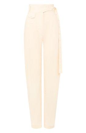 Женские брюки LOW CLASSIC светло-бежевого цвета, арт. L0W20SS_PT15CR   Фото 1