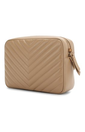 Женская сумка lou medium SAINT LAURENT бежевого цвета, арт. 612544/DV707 | Фото 3