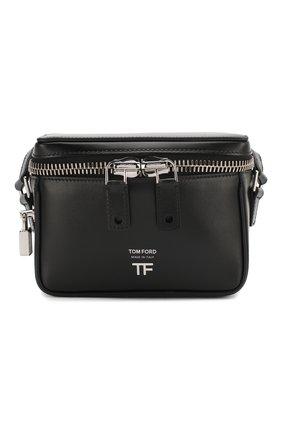 Женская сумка TOM FORD черного цвета, арт. L1312P-LCL056 | Фото 1