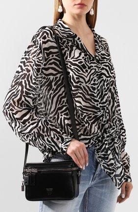 Женская сумка TOM FORD черного цвета, арт. L1312P-LCL056 | Фото 2
