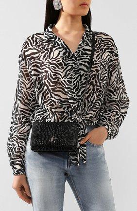 Женская сумка palace JIMMY CHOO черного цвета, арт. PALACE/CBH | Фото 2