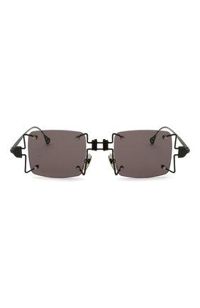 Женские солнцезащитные очки INNERRAUM черного цвета, арт. 097 BM GREY | Фото 3