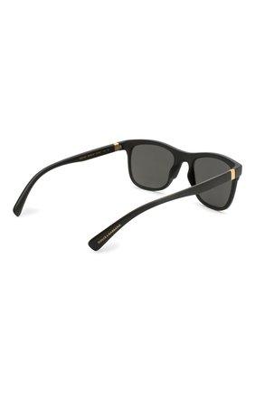 Женские солнцезащитные очки DOLCE & GABBANA черного цвета, арт. 6139-252587 | Фото 5