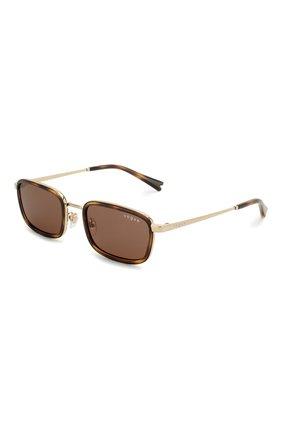 Женские солнцезащитные очки VOGUE коричневого цвета, арт. 4166S-848/73 | Фото 1