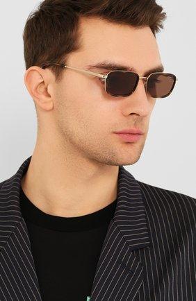Женские солнцезащитные очки VOGUE коричневого цвета, арт. 4166S-848/73 | Фото 3