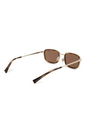 Женские солнцезащитные очки VOGUE коричневого цвета, арт. 4166S-848/73 | Фото 5