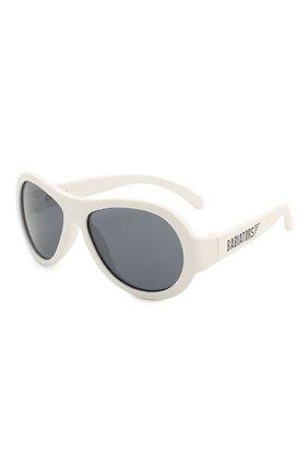 Детские солнцезащитные очки BABIATORS белого цвета, арт. BAB-015 | Фото 1