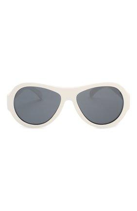 Детские солнцезащитные очки BABIATORS белого цвета, арт. BAB-015 | Фото 2
