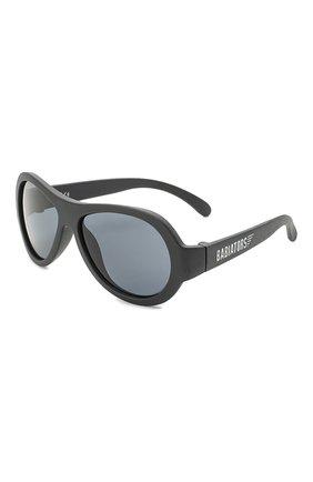 Детские солнцезащитные очки BABIATORS черного цвета, арт. BAB-005 | Фото 1