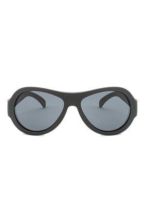 Детские солнцезащитные очки BABIATORS черного цвета, арт. BAB-005 | Фото 2