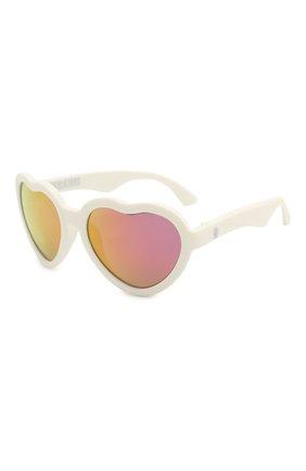 Детские солнцезащитные очки BABIATORS розового цвета, арт. LTD-024 | Фото 1