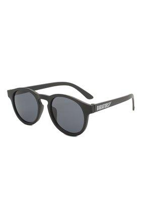 Детские солнцезащитные очки BABIATORS черного цвета, арт. LTD-034 | Фото 1