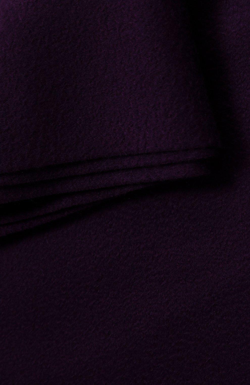 Мужского кашемировый плед LORO PIANA фиолетового цвета, арт. FAA1158   Фото 2