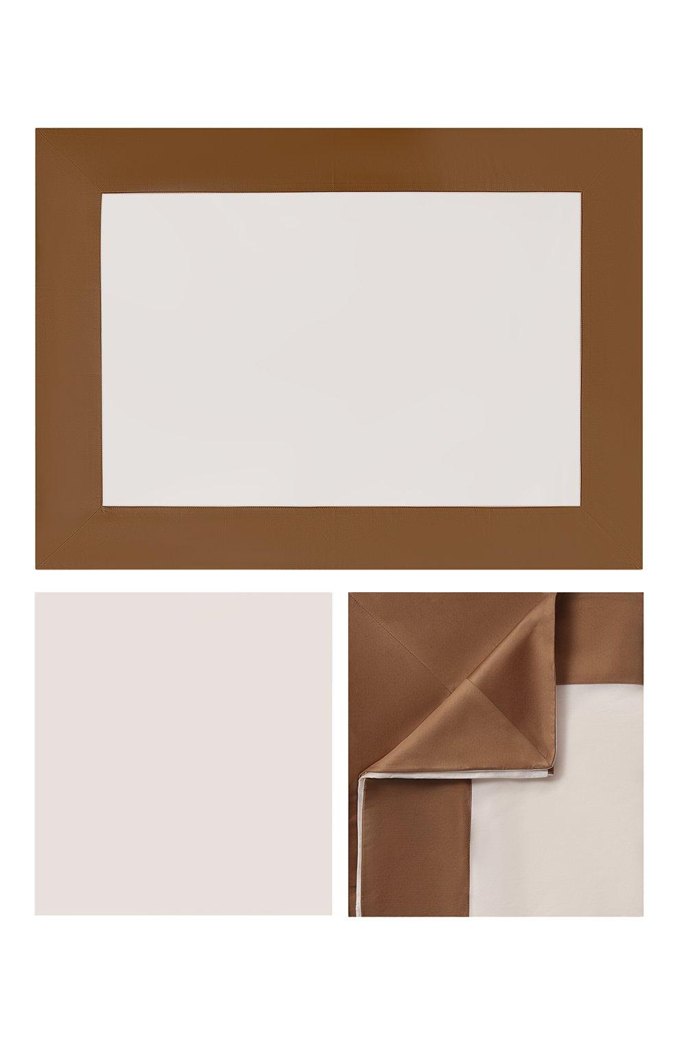 Мужского комплект постельного белья FRETTE бежевого цвета, арт. FR6565 E3458 260A   Фото 1