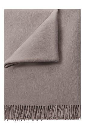 Мужского кашемировый плед LORO PIANA серебряного цвета, арт. FAA1158 | Фото 1