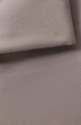 Мужского кашемировый плед LORO PIANA серебряного цвета, арт. FAA1158 | Фото 2